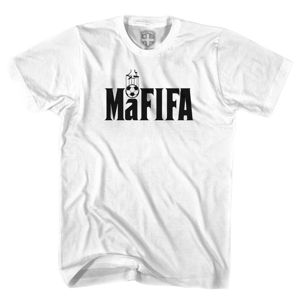 MaFifa T-shirt in White by Neutral FC