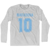 Ultras Maradona 10 Soccer Long Sleeve T-shirt