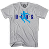 Diego Maradona Air D10S T-shirt in Cool Grey by Neutral FC