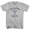 Massachusetts Wollaston Beach Trident Youth Cotton T-Shirt by Life on the Strand