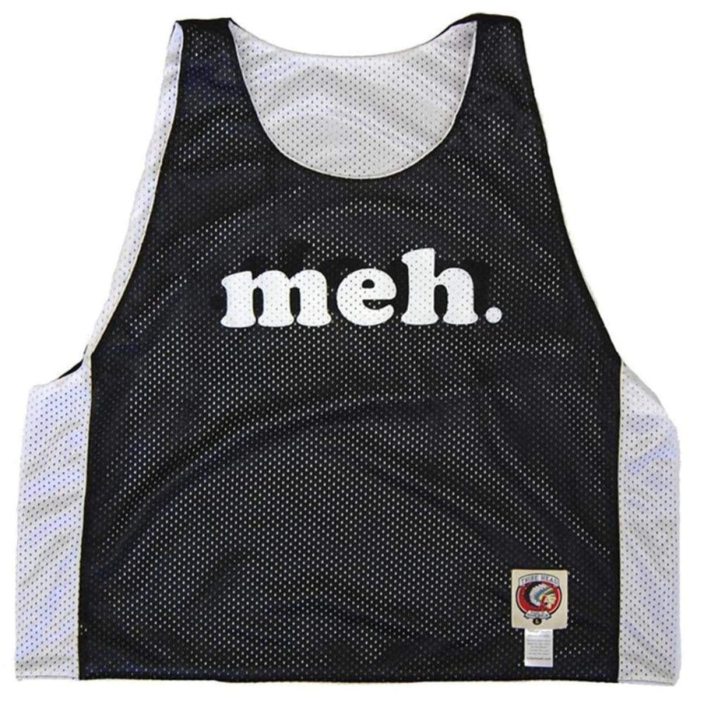 Meh Lacrosse Pinnie - Graphic Mesh Lacrosse Pinnies