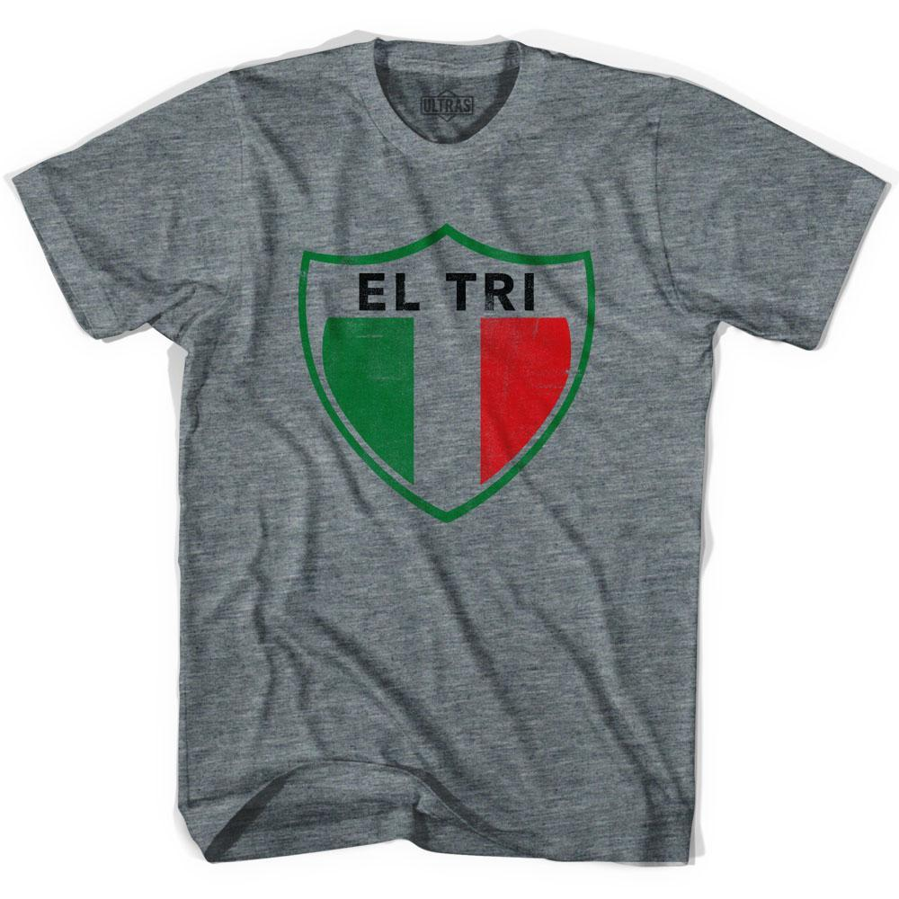 Ultras Mexico El Tri Crest Soccer T-shirt by Ultras
