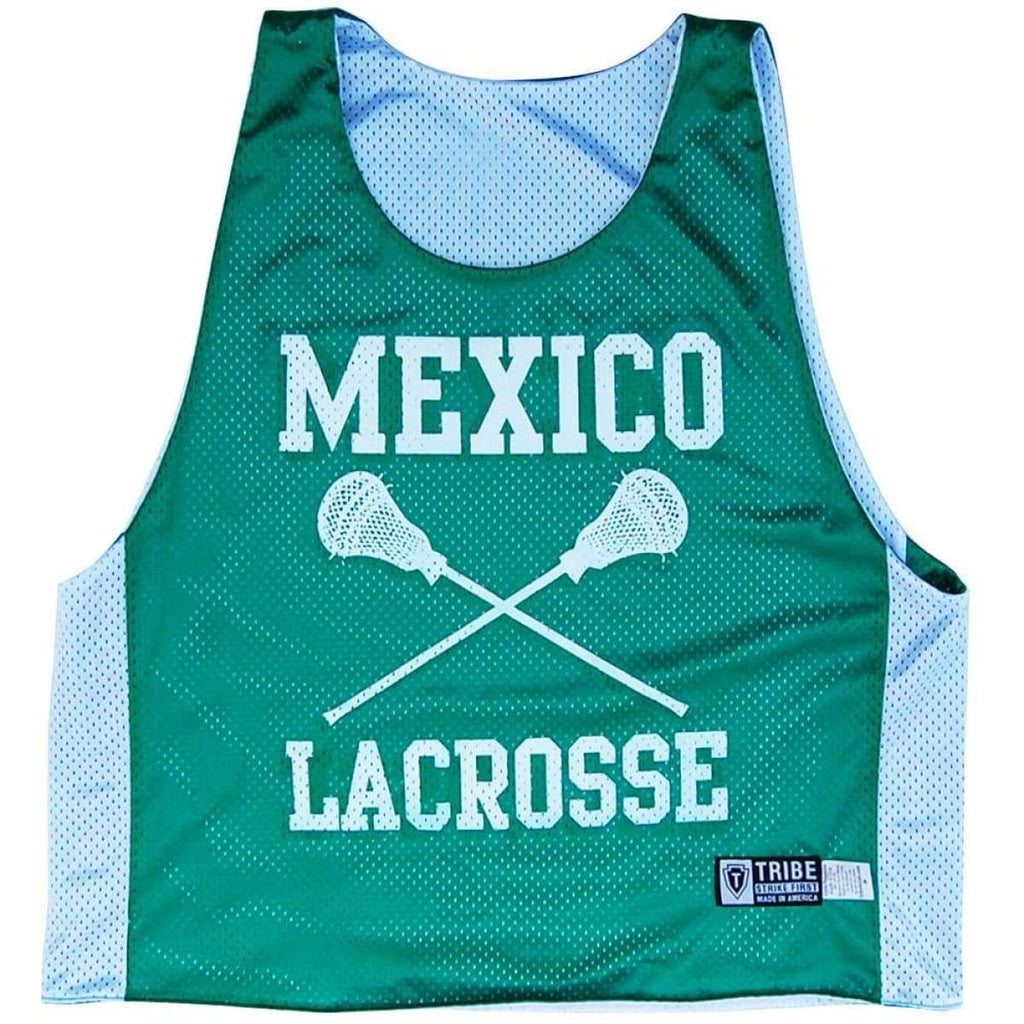 Mexico Lacrosse Pinnie - Graphic Mesh Lacrosse Pinnies