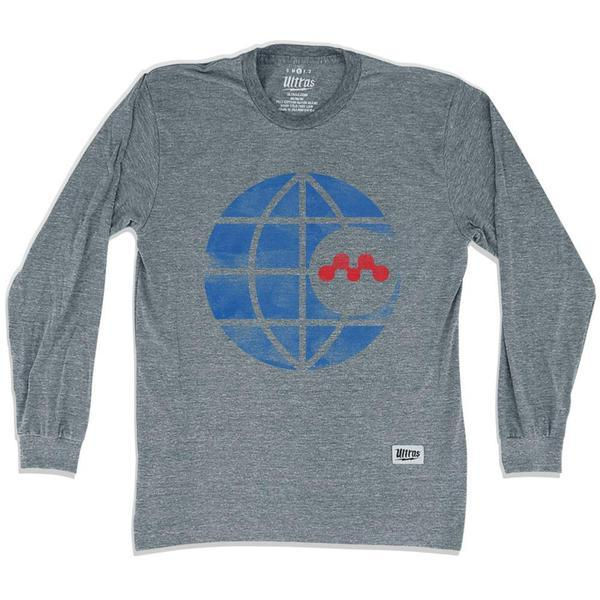 Montreal Olympique Long Sleeve T-shirt in Athletic Grey by Ultras