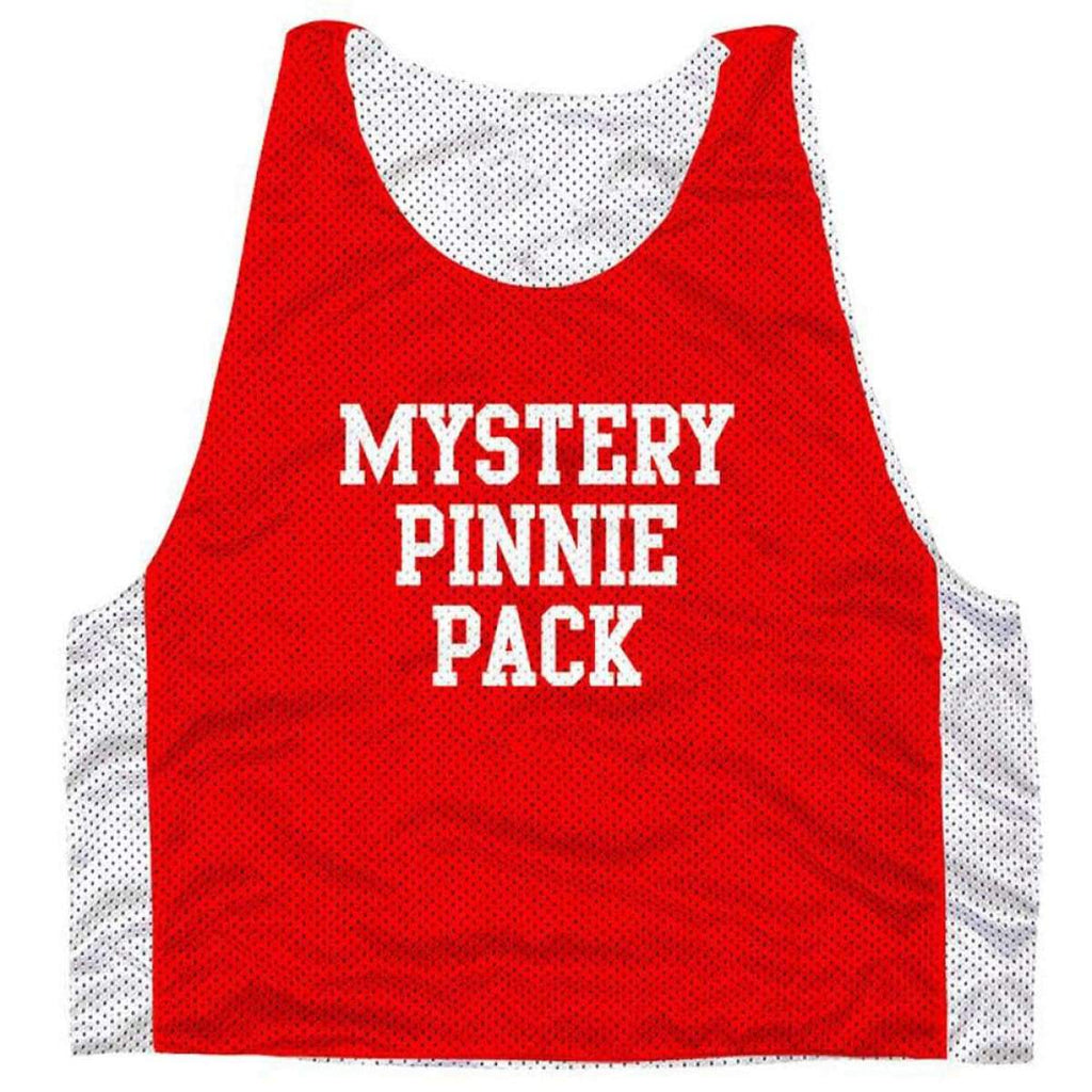 Mystery Graphic Pinnie 3 Pack - Graphic Mesh Lacrosse Pinnies