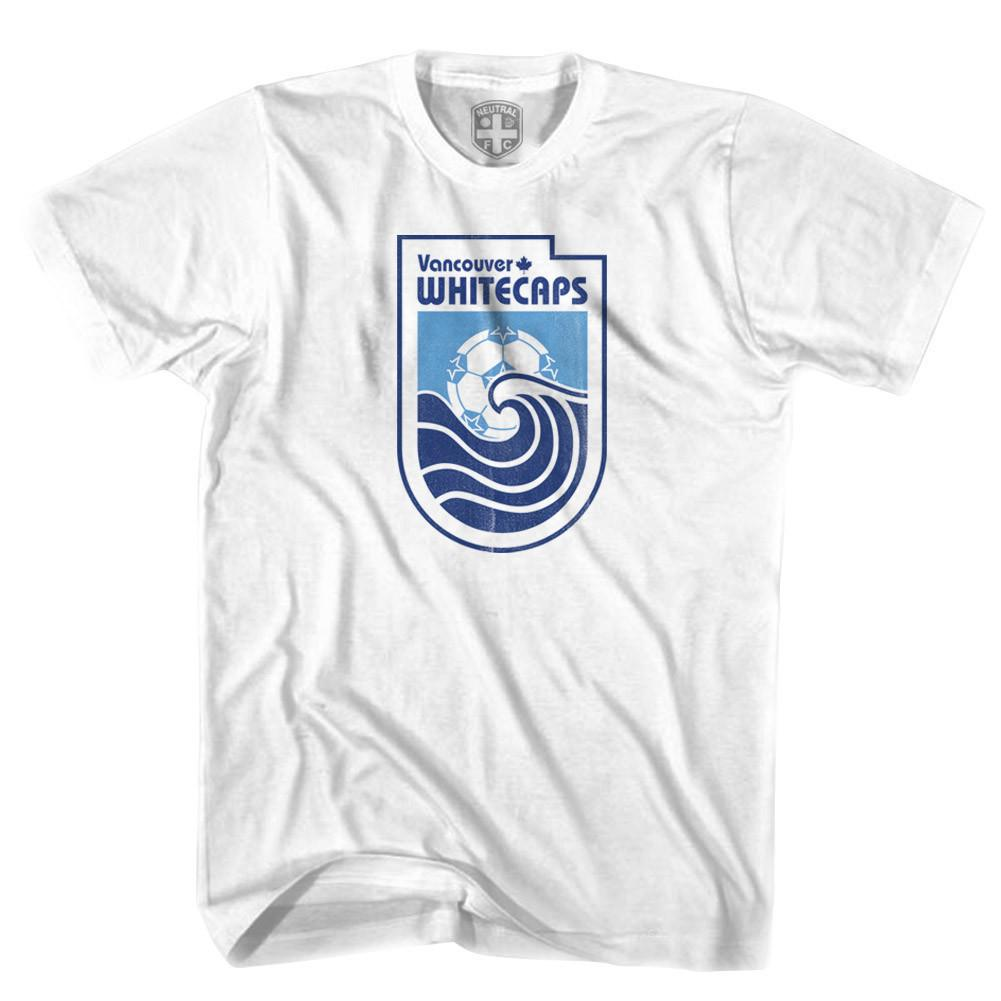 Vancouver Whitecaps Vintage T-shirt in White by Neutral FC