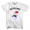 Netherlands Flag & Country T-shirt in White by Neutral FC