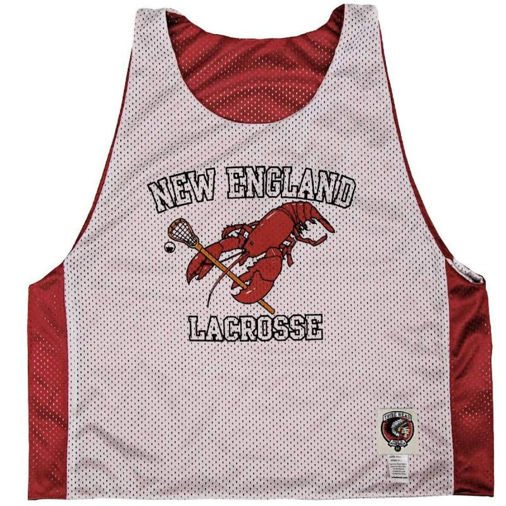 New England Lacrosse Pinnie - Graphic Mesh Lacrosse Pinnies