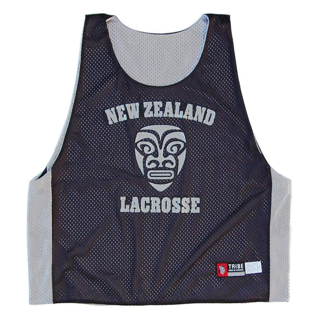 New Zealand Lacrosse Pinnie - Graphic Mesh Lacrosse Pinnies