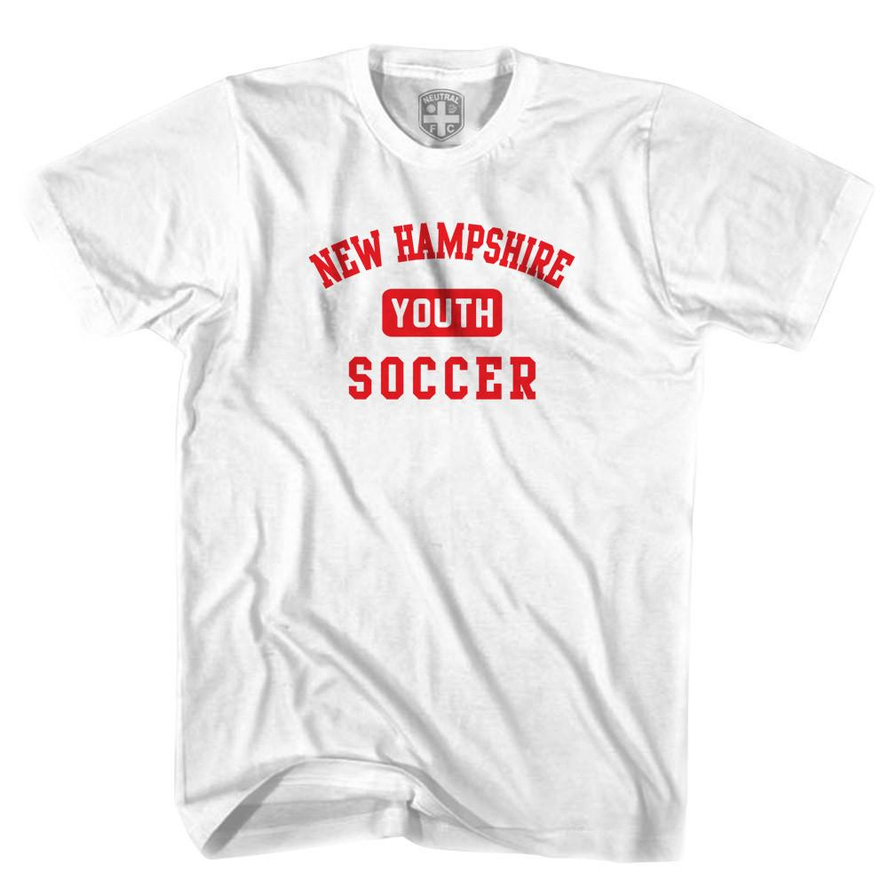 New Hampshire Youth Soccer T-shirt in White by Neutral FC