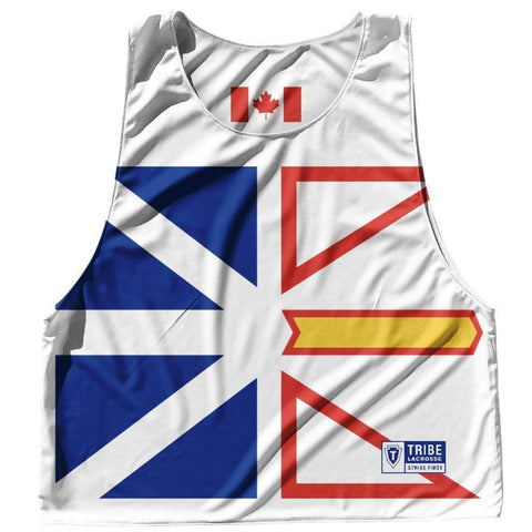 Nova Scotia Province Flag and Canada Flag Reversible Lacrosse Pinnie