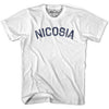Nicosia City Vintage T-shirt in Grey Heather by Mile End Sportswear