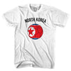 North Korea Soccer T-shirt in White by Neutral FC