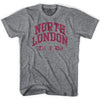 Arsenal North London Til I Die T-shirt in Heather Grey by Neutral FC