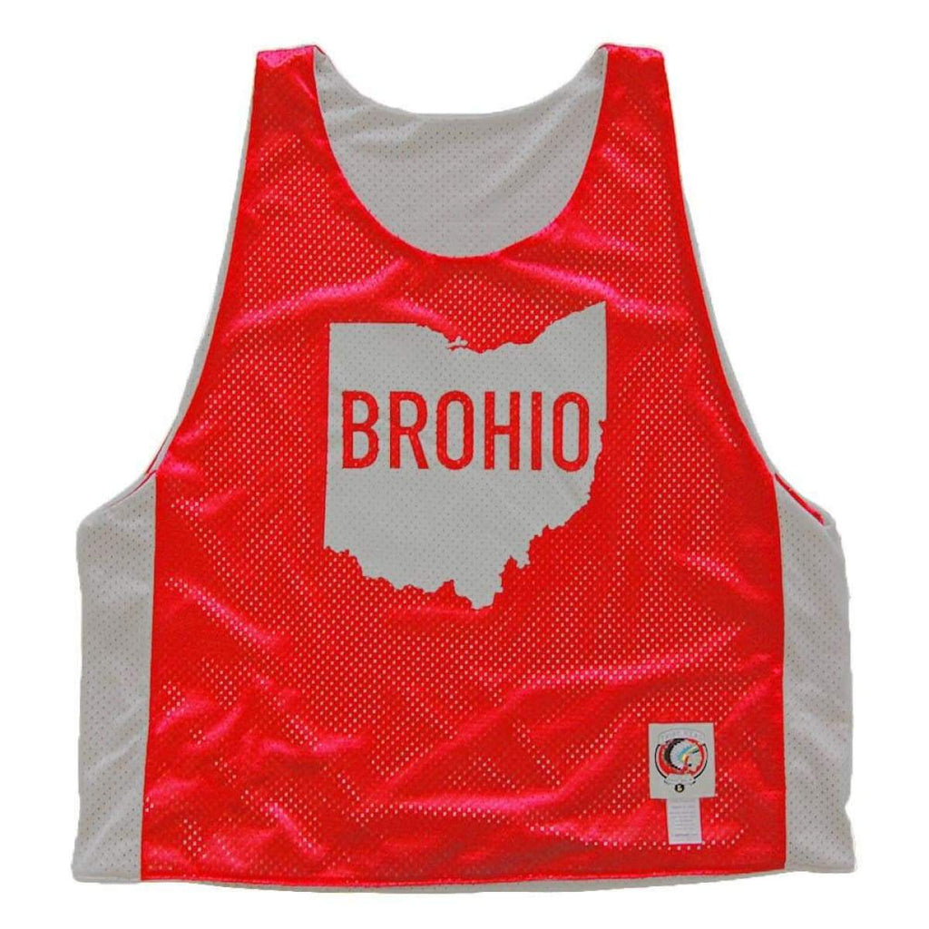 Ohio Brohio Lacrosse Pinnie - Graphic Mesh Lacrosse Pinnies