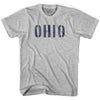Ohio State Stencil Womens Cotton T-shirt by Ultras