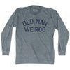 Old Man Weirdo Adult Tri-Blend Long Sleeve T-Shirt