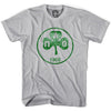 Panathinaikos Vintage Crest T-shirt in Cool Grey by Neutral FC