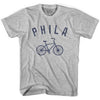 Philadelphia Phila Vintage Bike Soccer T-shirt