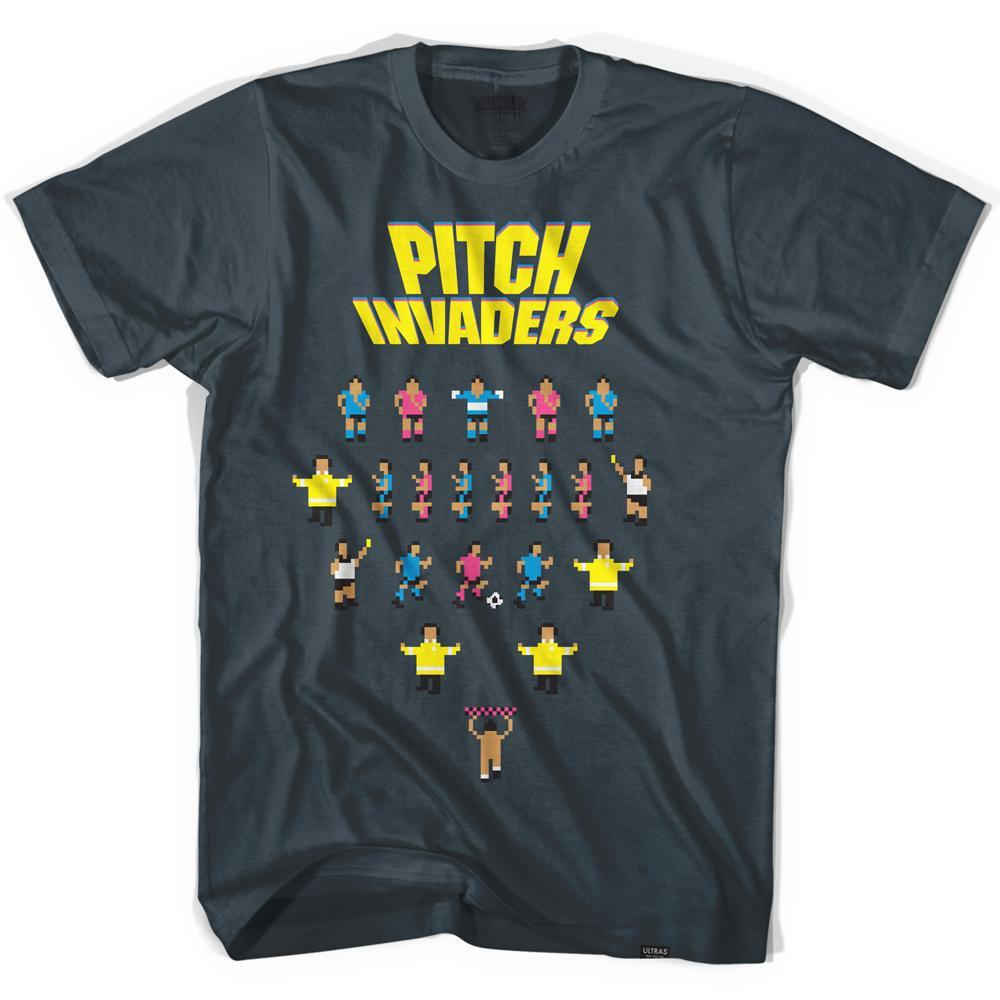 Pitch Invasion T-shirt in Asphalt by Neutral FC