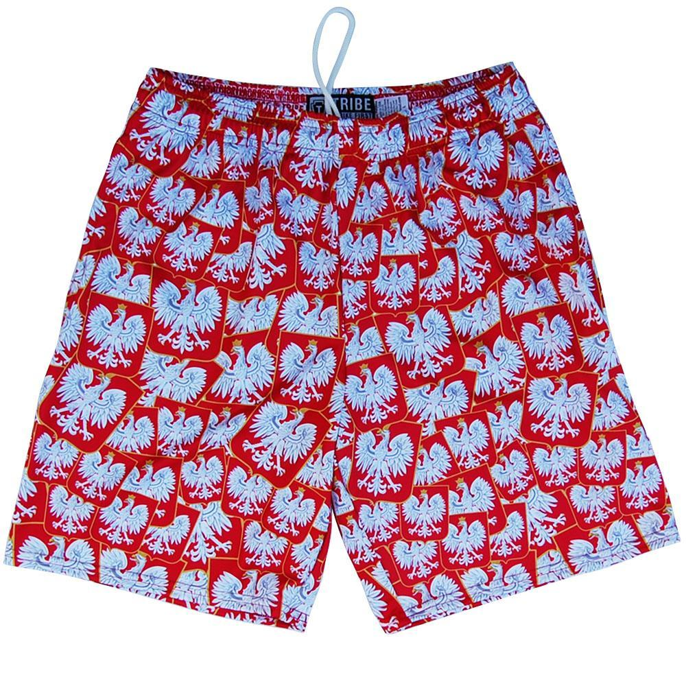 Poland Ploska Party Lacrosse Shorts by Tribe Lacrosse