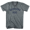 Quintana Roo Adult Tri-Blend V-Neck Womens Junior Cut T-Shirt