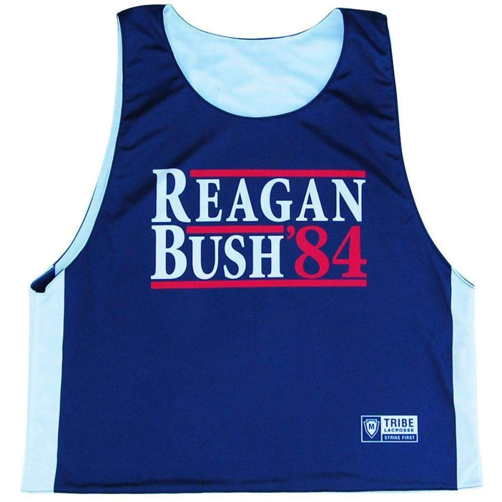 Reagan & Bush 84 Lacrosse Pinnie - Basketball Pinnie
