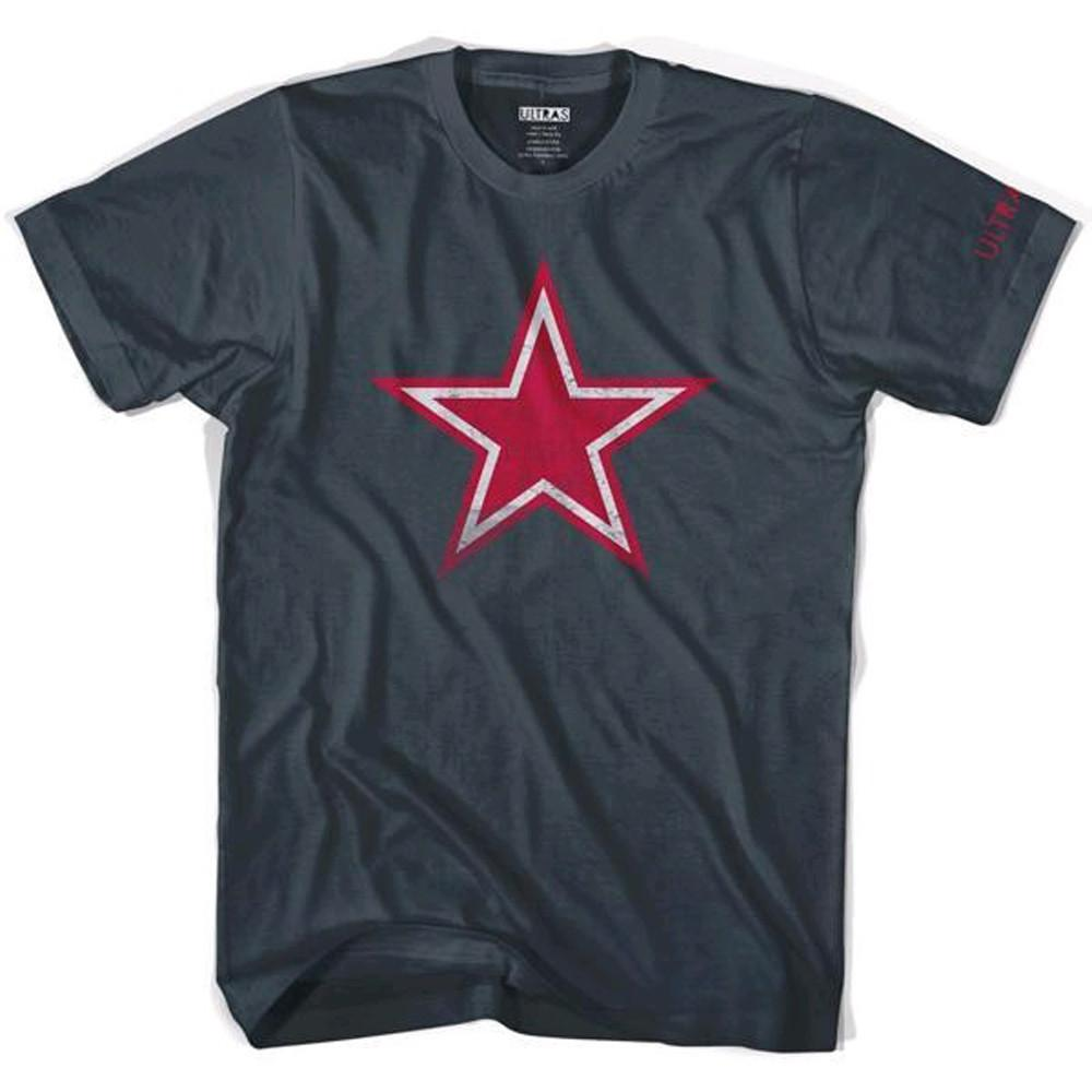 Football Revolution Star T-shirt in Asphalt by Neutral FC