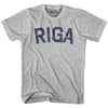 Riga City Vintage T-shirt in Grey Heather by Mile End Sportswear