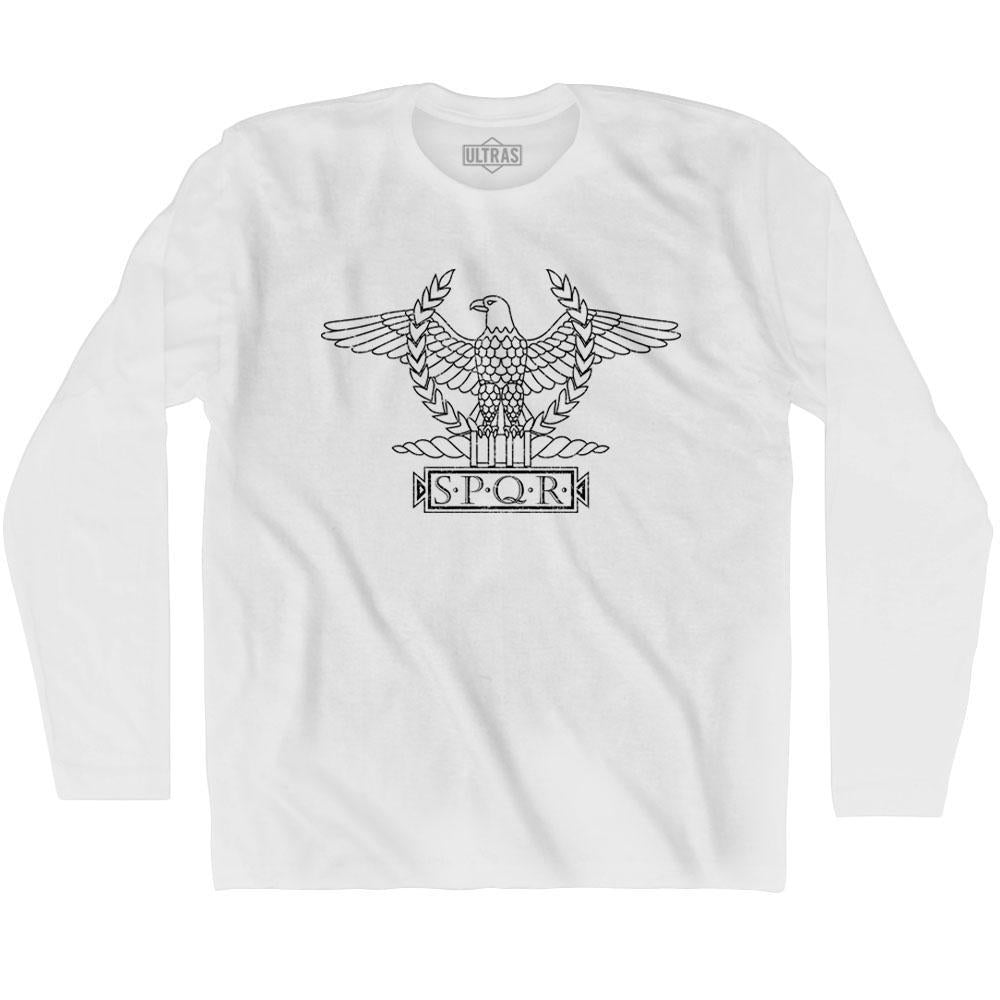 Rome Eagle SPQR Ultras Soccer Long Sleeve T-shirt by Ultras