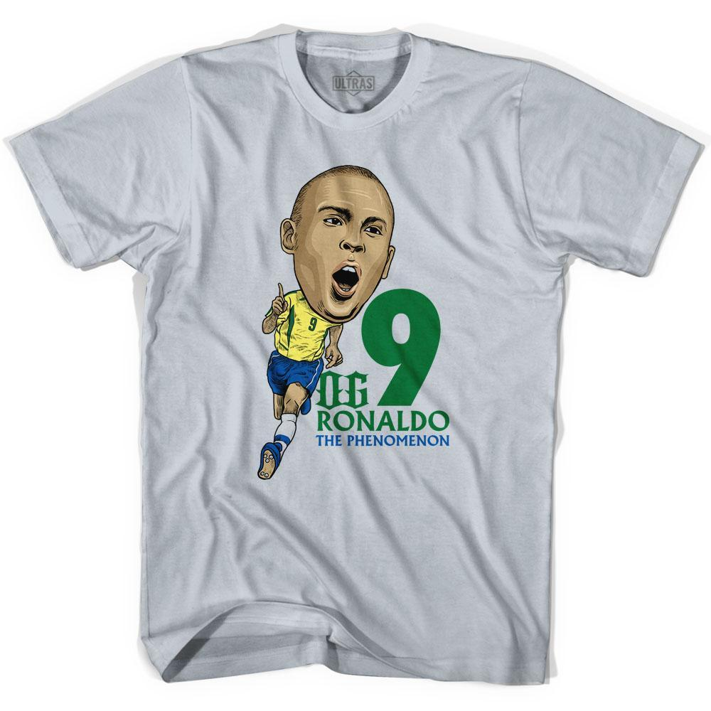 Ultras OG Ronaldo Caricature Soccer T-shirt by Ultras