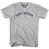 Saint Helena City Vintage T-shirt in Grey Heather by Mile End Sportswear