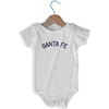 Santa Fe City Infant Onesie in White by Mile End Sportswear