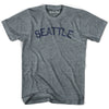 Seattle athletic grey MEDIUM short sleeve T-shirt-final sale B7