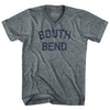 South Bend Adult Tri-Blend V-Neck Womens Junior Cut T-Shirt