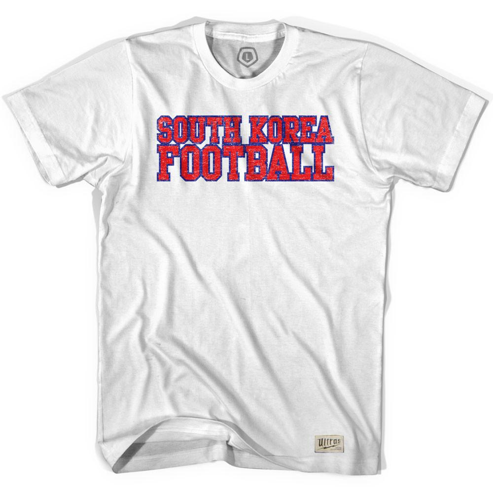 South Korea Soccer T-shirt in White by Neutral FC