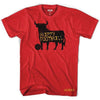 Spain Bull Happy Football T-shirt in Red by Neutral FC