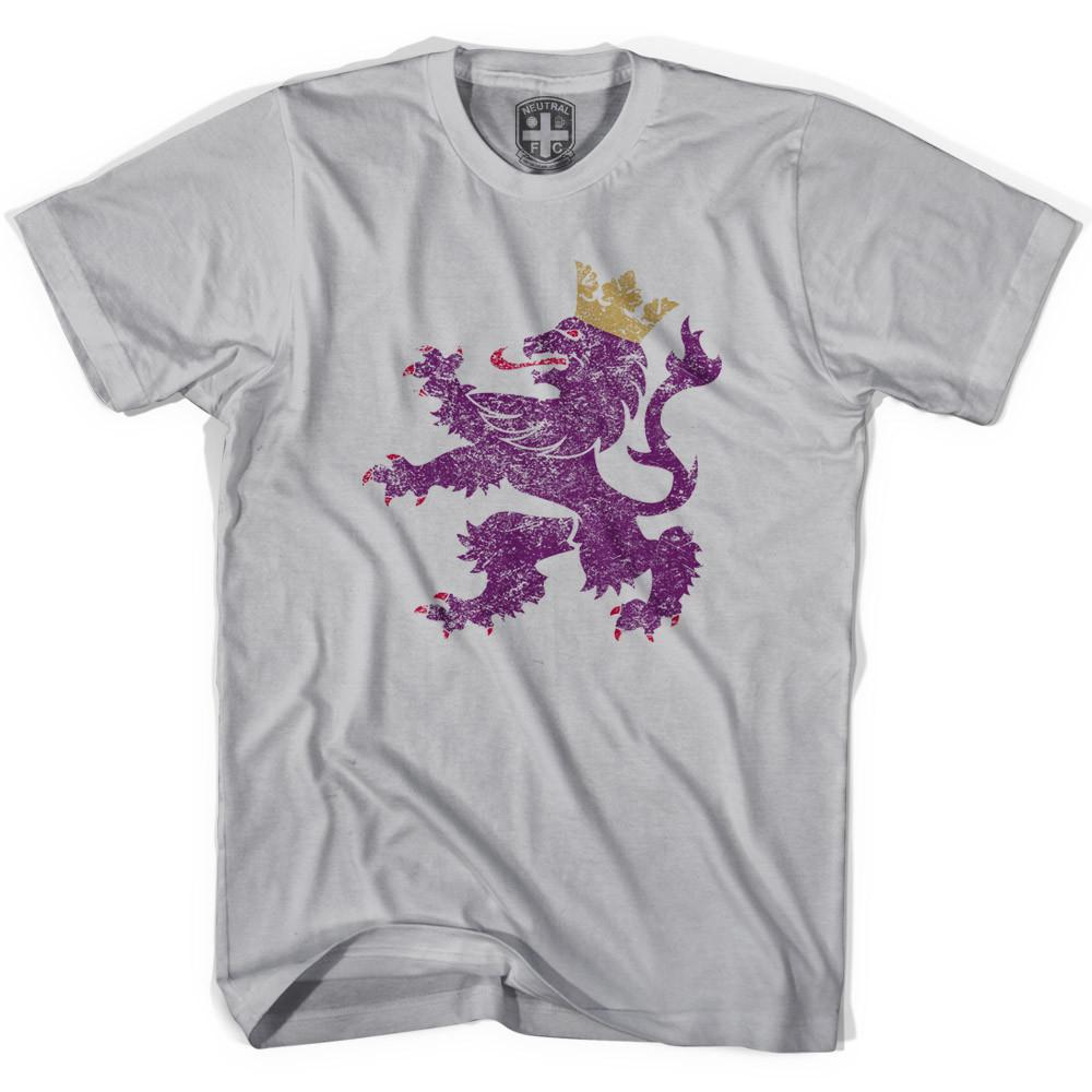 Spain Leo Lion T-shirt in Cool Grey by Neutral FC