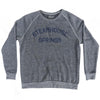 Steamhouse Springs Adult Tri-Blend Sweatshirt by Ultras