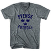 Ultras Sweden Svensk Fotboll Soccer V-neck T-shirt by Ultras