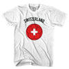 Switzerland Soccer Ball T-shirt in White by Neutral FC