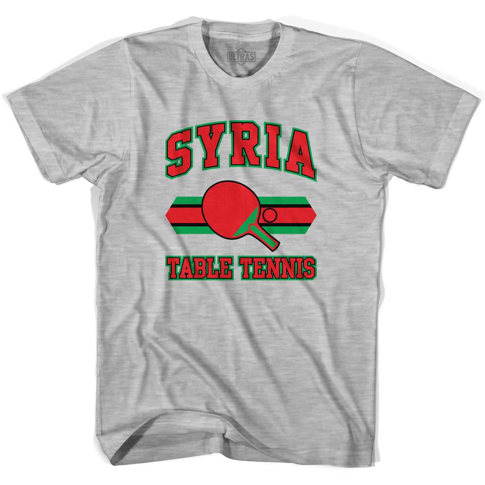 Syria Table Tennis Youth  Cotton T-shirt by Ultras