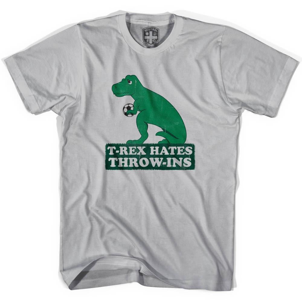 T-Rex Hates Throw-Ins in Cool Grey by Neutral FC