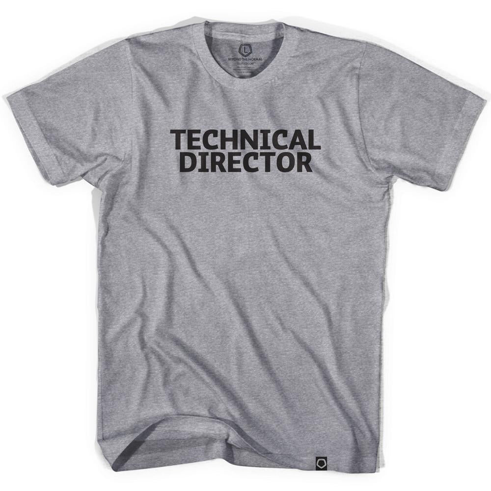 Technical Director T-shirt in Grey Heather by Neutral FC