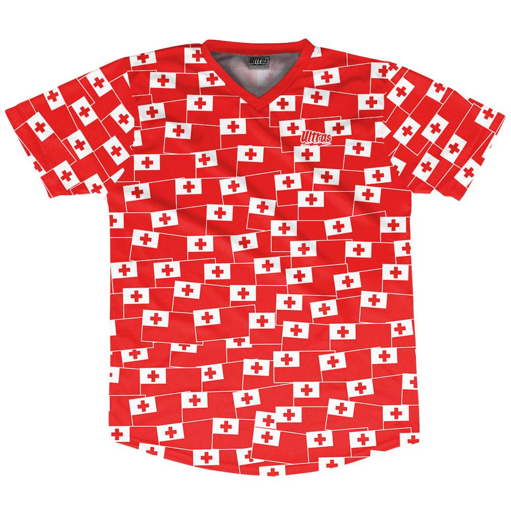 Ultras Tonga Party Flags Soccer Jersey by Ultras