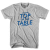 Top of the Table T-shirt (Blue Art) in White by Neutral FC