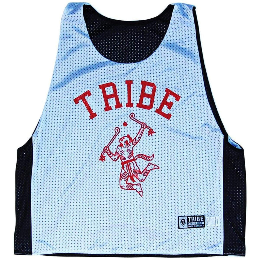 Tribe Warrior Lacrosse Pinnie - Graphic Mesh Lacrosse Pinnies