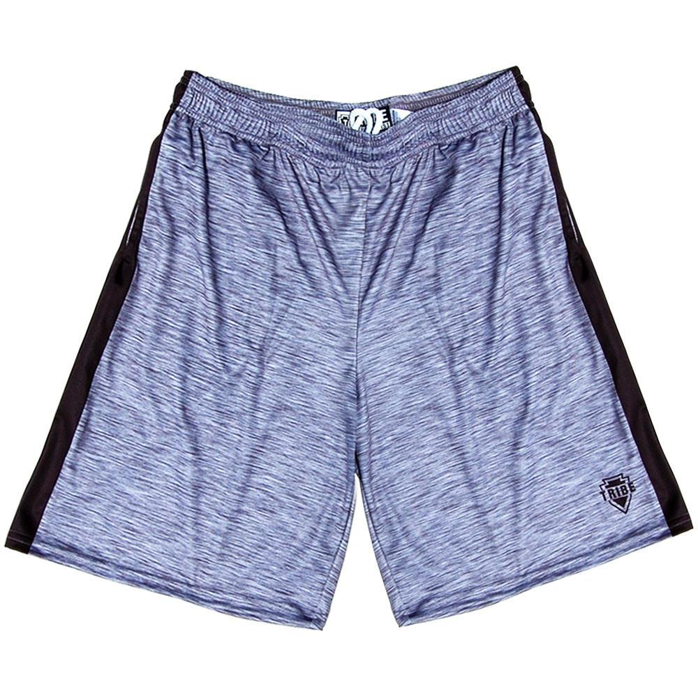 Tribe Lacrosse Heather Shorts in Heather Grey by Tribe Lacrosse
