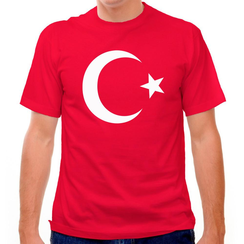 Turkey Flag T-shirt in Red by Neutral FC