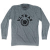 Ultras Ball and Laurel Soccer Long Sleeve T-shirt by Ultras